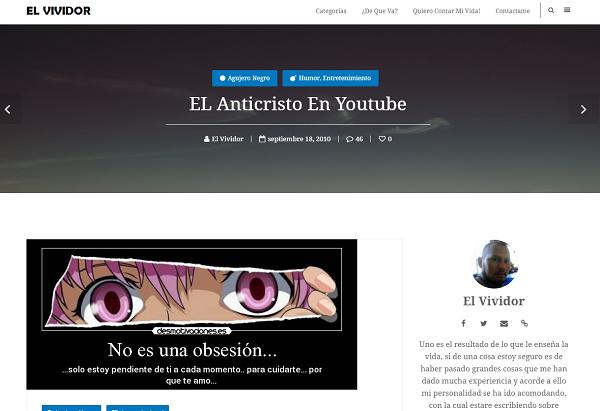 El Vividor Blogger Boliviano